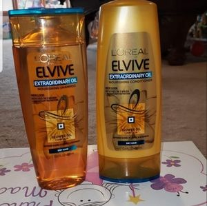 Loreal shampoo and conditioner set